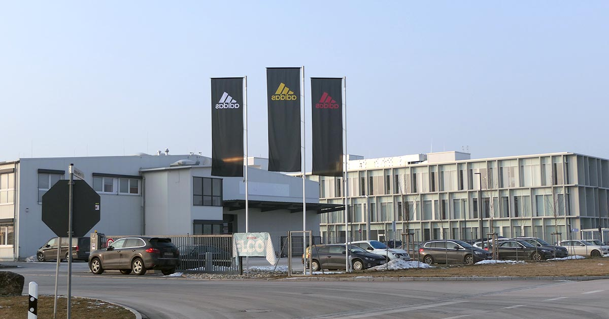 Adidas world of sports herzogenaurach koch gmbh for Koch herzogenaurach