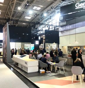 Gerflor Messestandt BAU 2019